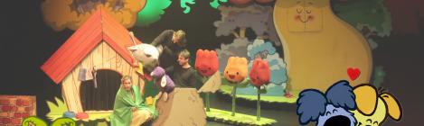 Woezel en Pip opzoek naar de Sloddervos